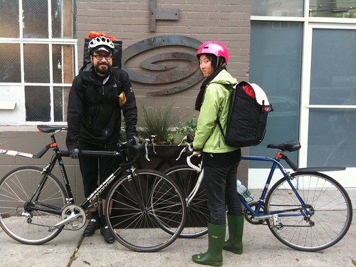 Dry Buns Crusaders. Ready to cover bike seats all over San Francisco.