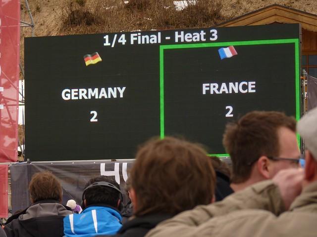 Ausgeschieden - Ski-WM 2011, Team-Entscheidung