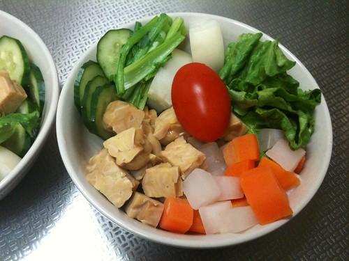 朝食サラダ(2011/2/17)