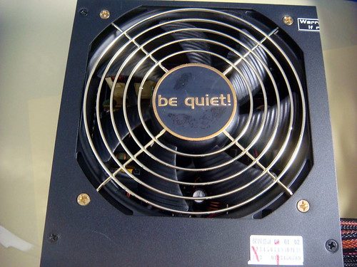 Be Quiet! E7 SP Golden 650w 電源供應器