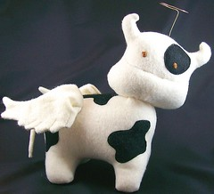 Holy Cow (sew crazy creations) Tags: cow