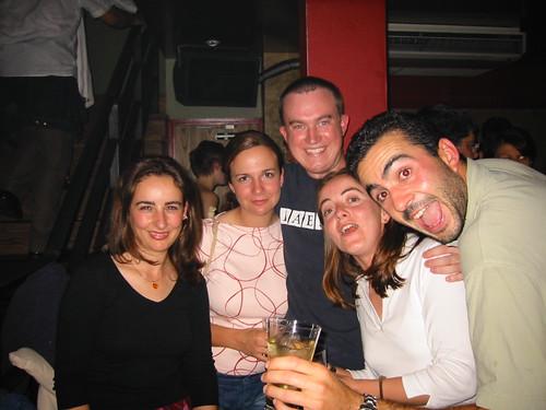 Marga, Maria, Erik, Rocio, Carlos
