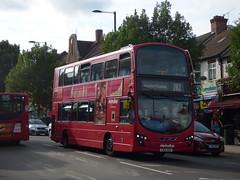 The Odd One Out (londonbusexplorer) Tags: metroline volvo b9tl wrightbus gemini 2 vw1283 lk12aoa 282 mount vernon hospital ealing greenford broadway tfl london buses