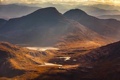 Sunset over Wester Ross, Scotland (AmBasteir) Tags: westerross torridon sunset scotland highland
