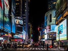 times square at night (thomas.reissnecker) Tags: timesquare cityscape urban usa manhatten bigapple nyc