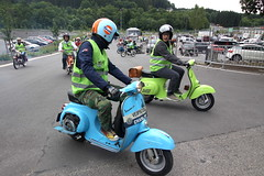 IMG_9365 (Christophe BAY) Tags: mobyltettes francorchamps 2017 rétromobile club spa circuit moto vespa camino flandria