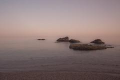 the rock (DAVID MARCHENA) Tags: sea seascape water rock canon calm spain hot colors