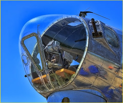 "NORDEN BOMB SIGHT - ""Madras Maiden"" B-17 (TV Director) Tags: b17 bomber b17bomber madrasmaiden nordenbombsight"