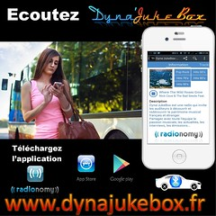 == DYNA'JUKEBOX RADIO ==  Ecoutez Dyna'JukeBox partout avec votre Androïd, Iphone, Tablette, 24h/24 & 7j/7 Retrouvez nous sur Radionomy : https://www.radionomy.com/fr/radio/dyna-jukebox-pop/index  Excellente journée avec Dyna'JukeBox, la radio de la diver (kamelothutchinson) Tags: twitter google radioline nyc california iphone sensations sanfrancisco facebook radionomy smartphone music instagram tablette santacruz android rock siliconvalley santaclara