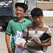Young Kyrgyz traders
