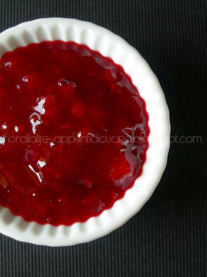 Marmellata di ribes rosso e peperoni