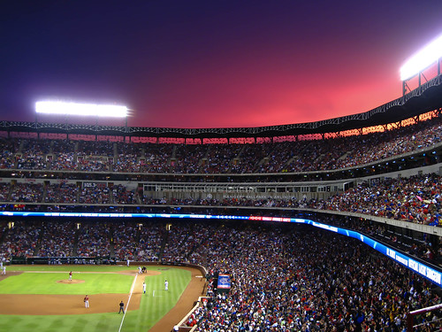 Sunset at the Ballpark