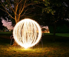 Light Painting #2 (Richard Cowdrey) Tags: longexposure lightpainting night canon eos hampshire havant 400d eos400d richardcowdrey
