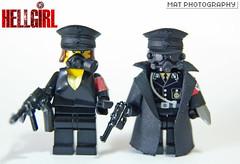 HELLGIRL full light 2 (Shobrick) Tags: world weird amazing war lego nazi hazel tiny custom armory hellboy tactical hellgirl brickarms heelboy shobrick