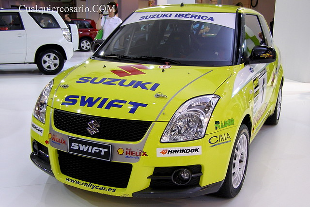 Suzuki Swift Rally - toma I
