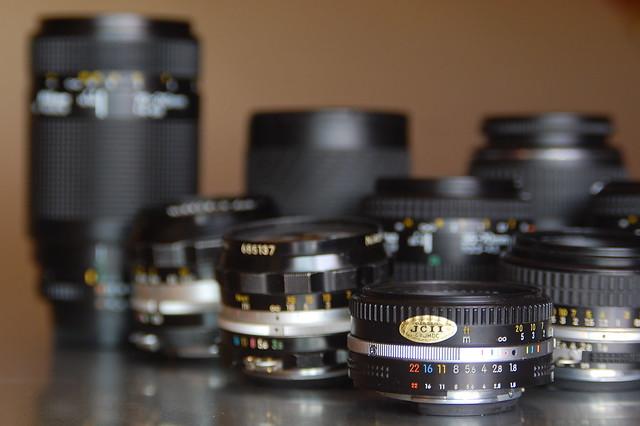Nikon glass