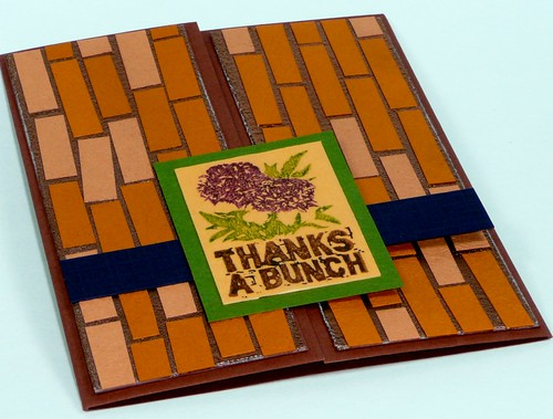 Mosaic tiled card - 4