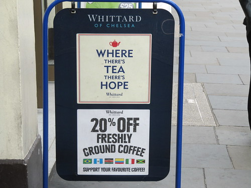 tea equals hope