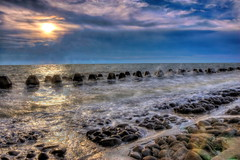 (michaelrpf) Tags: ocean sunset landscape wave        naturescene