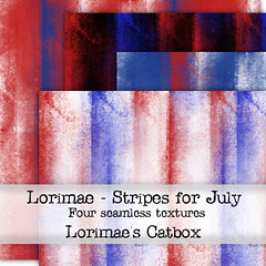 Lorimae Texture -  Stripes for July