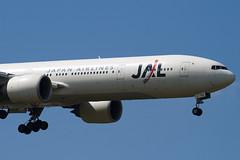 JA734J - 32433 - Japan Airlines - JAL - Boeing 777-346ER - 100617 - Heathrow - Steven Gray - IMG_5251