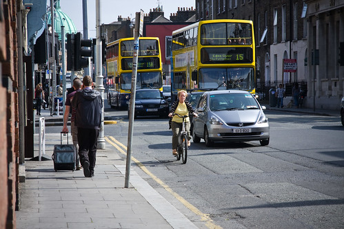 Dublin Cycle Chic - Yellow
