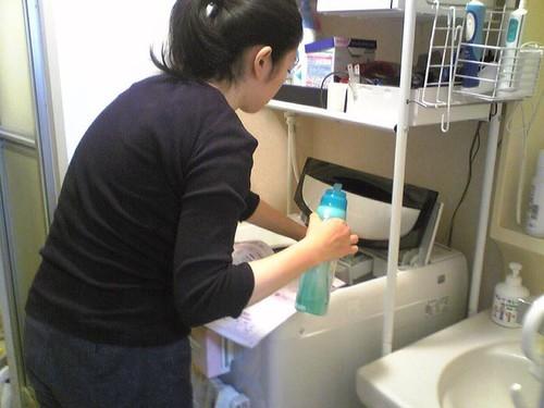 我が家に新しい洗濯機が来た