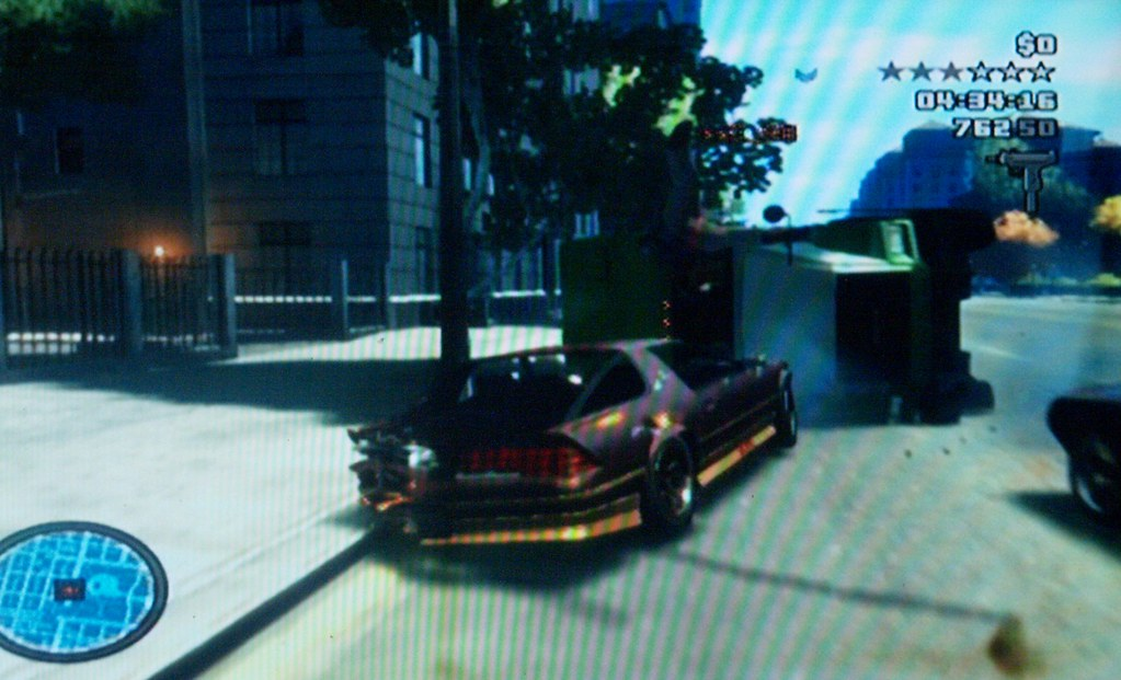 Houston Texas Me playing some Grand Theft Auto IV 4 video game online in multiplayer mode The mission title is Bomb Da Base its me destroying or killing all my team mates with automobiles Off line thi