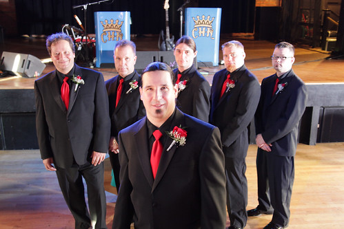 James Trunko and the Groomsmen! Photo by Michael Raffin