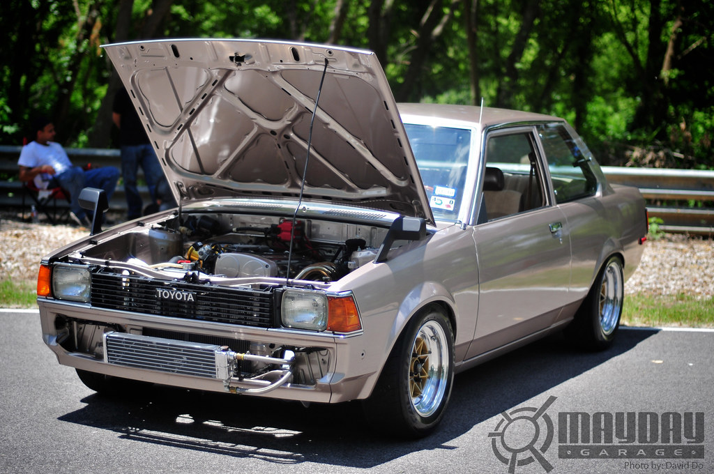 Tx 1983 Toyota Corolla 4age 20v I T B Hellaflush