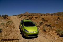Mojave Desert trail