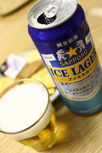 ICE LAGER アイスラガー(サッポロ)