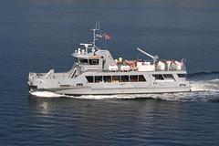 Oscarsborg - the ferry is bringing new guests (Quistnix!) Tags: ferry fortress festning oscarsborg oscarsborgii