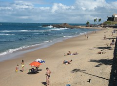 Beautiful Beach, Porto da Barra, Salvador (Bencito the Traveller) Tags: brazil beach salvador portodobarra