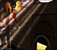 ASCENSION (Victoria ♔) Tags: art church angel cathedral goddess secondlife ascension onoshelman