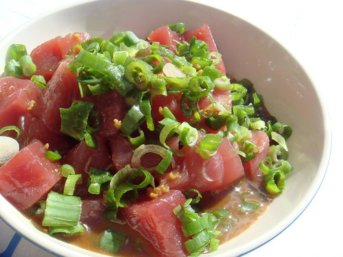 Tuna Sashimi by Fernandez and Leluu