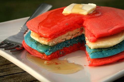 Patriotic Pancakes.