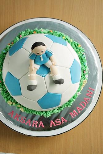 Soccer Ball 3D Cake