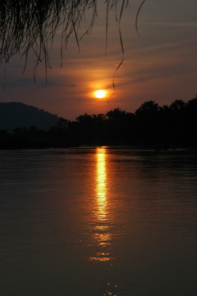 Don Khon sunset