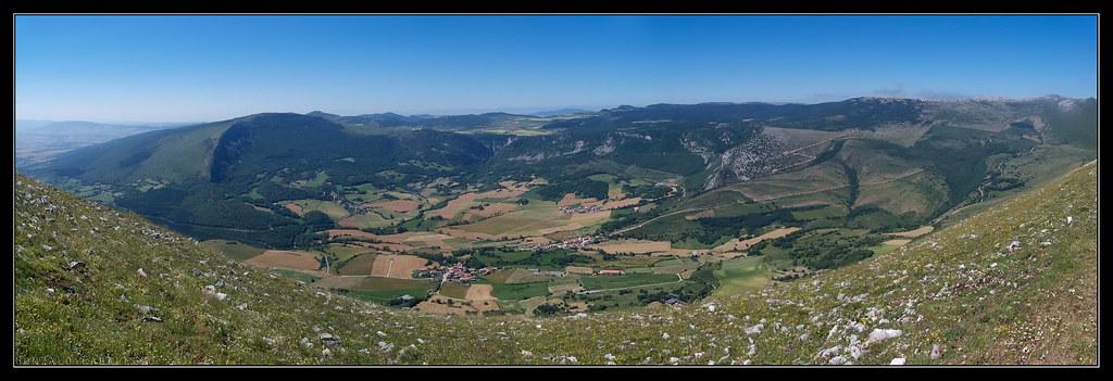 Valle de Ollo desde Churregui