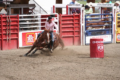 Williams Lake Stampede Barrel Racing