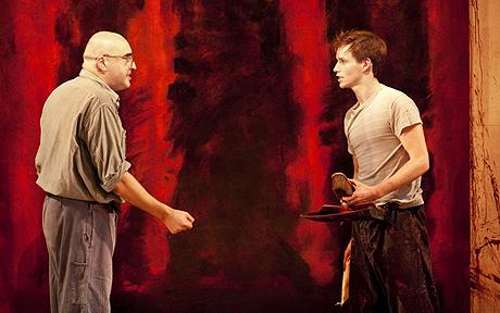 Alfred Molina and Eddie Redmayne in Red at the Donmar Warehouse