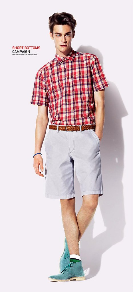 UNIQLO 0424_SHORT BOTTOMS CAMPAIGN SS10_Jonas Kesseler