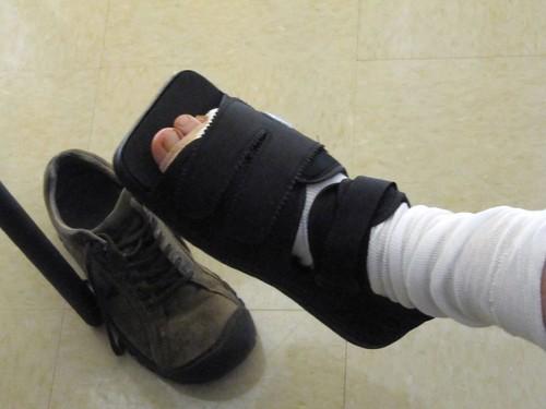 surgery shoe
