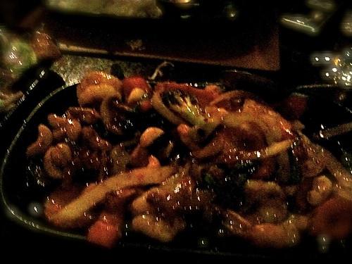 cashew prawns
