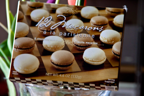 Chocolate & Vanilla Macarons from Trader Joe's