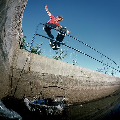 Caleb Schrank Tailslide Piop Off