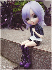 We love purple <3 (Au Aizawa) Tags: japanese doll purple pullip fashionfever celsiy