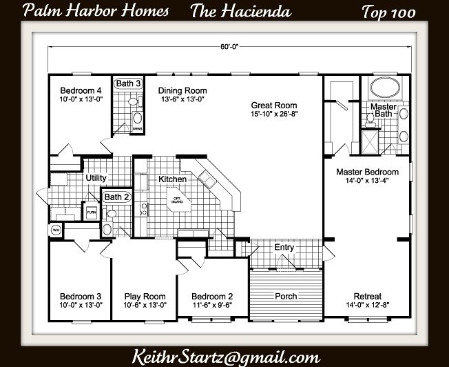 Palm harbor Homes The Hacienda Top 100