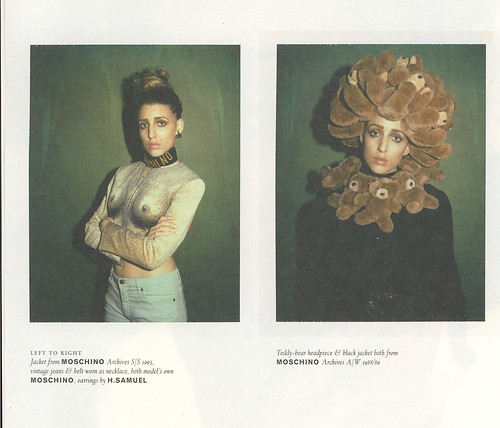 Mochino Summer Spring 1993 and Autumn Winter 1998 to 89